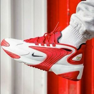 NEW Nike Zoom 2K Sneaker White Red